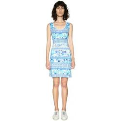 Vêtements Femme Robes Desigual Robe Baptisto Navy 18SWVK23 Bleu