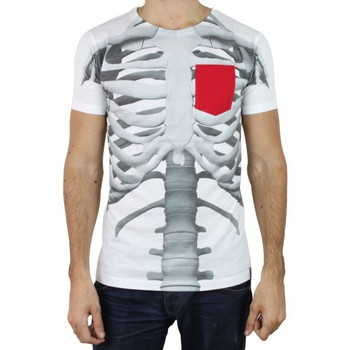 Vêtements Homme T-shirts manches courtes French Kick T-Shirt  Doctor Bones blanc