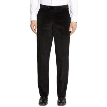 Vêtements Homme Chinos / Carrots Kebello Pantalon Velours noir