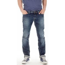 Vêtements Homme Jeans droit Meltin'pot Jeans Meltin' Pot Maner bleu