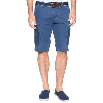 Vêtements Homme Shorts / Bermudas Tom Tailor Short cargo  Jim bleu