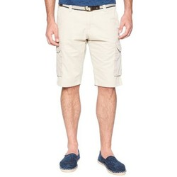 Vêtements Homme Shorts / Bermudas Tom Tailor Short cargo  Jim beige