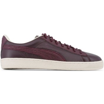 Chaussures Homme Baskets basses Puma - Baskets / Sneakers Classic Citi - Bordeaux Rouge
