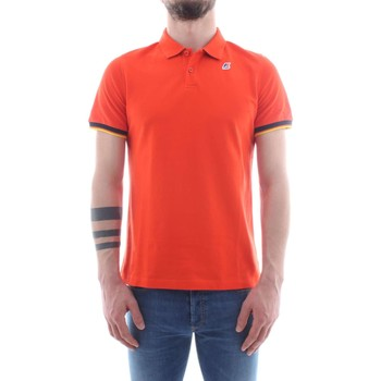 Vêtements Homme Polos manches courtes K-Way K008J50 Orange