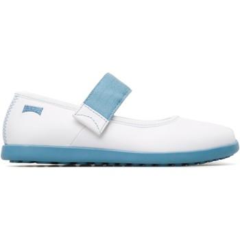 Chaussures Fille Bottes Camper Noo  K800165-001 blanc