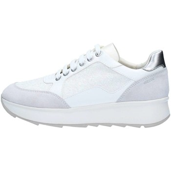 Chaussures Femme Baskets basses Geox D745TBBCAT Basket Femme Off White Off White