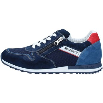 Chaussures Homme Baskets basses Nero Giardini P800371U Basket Homme Dark Blue Dark Blue
