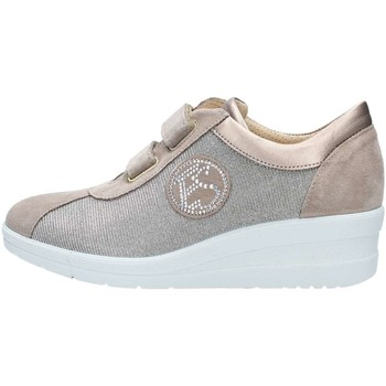 Chaussures Femme Baskets basses Enval 1265522 Basket Femme Taupe Taupe