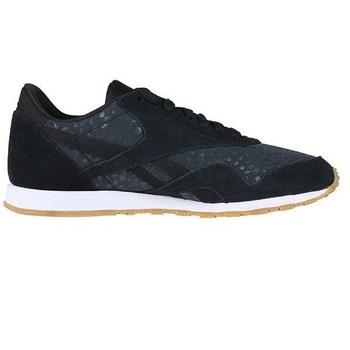 Chaussures Femme Baskets basses Reebok Sport CL Nylon Slim Txt L Noir