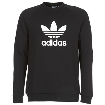 Vêtements Homme Sweats adidas Originals TREFOIL CREW Noir