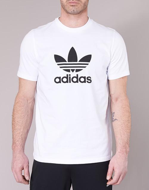 Trefoil Originals T Blanc Adidas Courtes shirt Manches T Homme shirts rCdthQs
