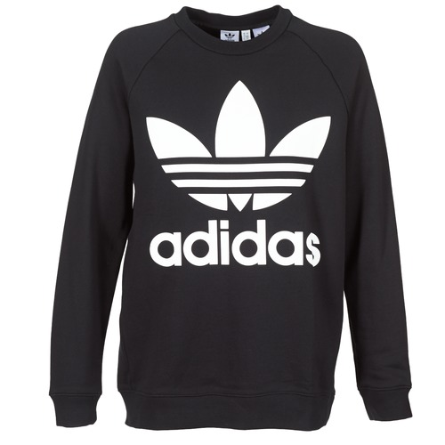 Vêtements Femme Sweats adidas Originals OVERSIZED SWEAT Noir