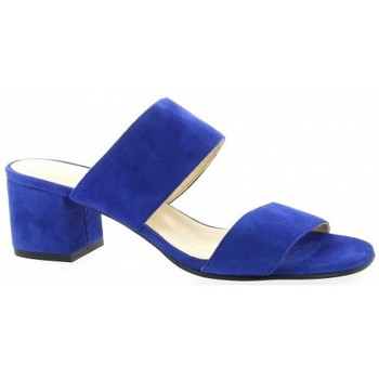 Chaussures Femme Mules Pao Mules cuir velours Bleu