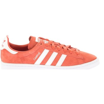 Chaussures Homme Baskets mode adidas Originals BASKET CAMPUS BLANC/ROUGE