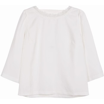 Vêtements Femme Tops / Blouses Frnch Top caitlyn Blanc