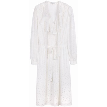 Vêtements Femme Robes Frnch Robe aissatou Blanc