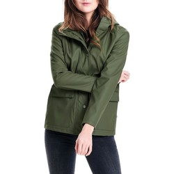 Vêtements Femme Blousons Only onlTRAIN SHORT RAINCOAT Vert