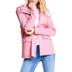 Vêtements Femme Blousons Only onlTRAIN SHORT RAINCOAT Rose