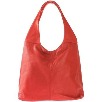 Sacs Femme Sacs porté épaule Oh My Bag Sac à main bandoulière femme en cuir souple rouge ROUGE