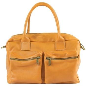 Sacs Femme Sacs porté main Oh My Bag Sac à main femme en cuir souple cognac COGNAC
