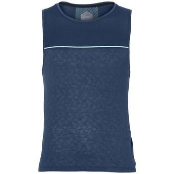 Vêtements Homme Débardeurs / T-shirts sans manche Asics Cool Singlet Bleu