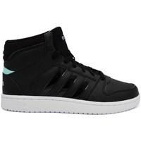 Chaussures Femme Baskets montantes adidas Originals VS Hoopster Mid Noir