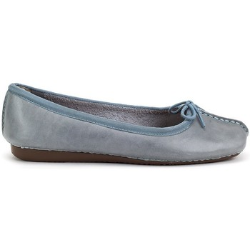Chaussures Femme Ballerines / babies Clarks Freckle Ice Gris