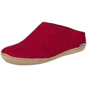 Chaussures Femme Chaussons Glerups B0800 Rouge