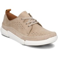 Chaussures Homme Baskets basses Clarks Trifri Lace Beige