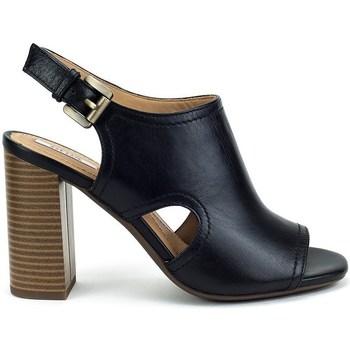 Chaussures Femme Sandales et Nu-pieds Geox Audalies High Noir