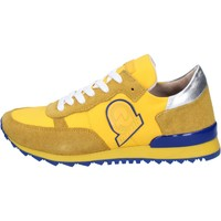 Chaussures Femme Baskets mode Invicta sneakers jaune textile daim AB53 jaune