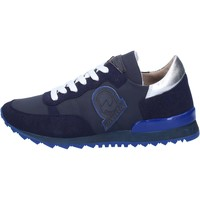Chaussures Femme Baskets mode Invicta sneakers bleu textile daim AB54 bleu