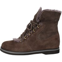 Chaussures Femme Bottines Mbt chaussures femme  bottines marron daim gris fourrure AB112 masai marron