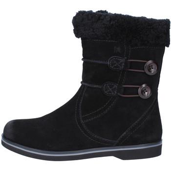Chaussures Femme Bottes de neige Mbt bottines noir daim fourrure AB232 masai noir