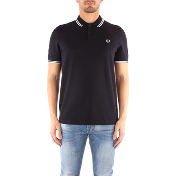 Vêtements Homme T-shirts manches courtes Fred Perry M3600 T-shirt Homme 238 Navy / White / White CORE 238 Navy / White / White CORE