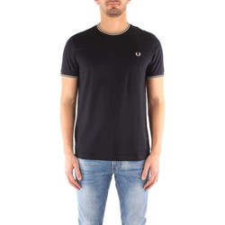 Vêtements Homme T-shirts manches courtes Fred Perry M1588 T-shirt Homme navy navy
