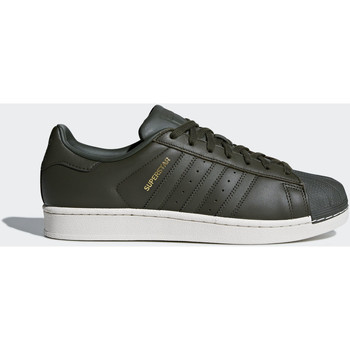 Chaussures Homme Baskets basses adidas Originals Chaussure Superstar Marron / Rouge / Noir