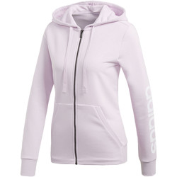 Vêtements Femme Vestes de survêtement adidas Performance Veste à capuche Essentials Linear Blanc