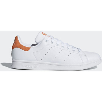 Chaussures Baskets basses adidas Originals Chaussure Stan Smith Blanc / Blanc
