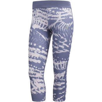 Vêtements Femme Leggings adidas Performance Tight Response 3/4 Graphic blue