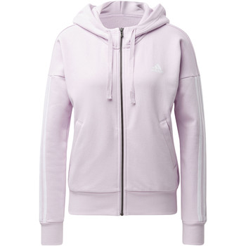 Vêtements Femme Vestes de survêtement adidas Performance Veste à capuche Essentials 3-Stripes Blanc