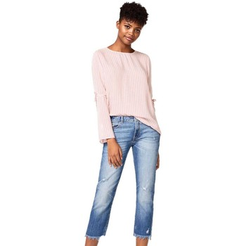 Blouses Esprit blusa mujer mil rayas rosa