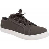 Chaussures Femme Baskets basses Primtex Baskets  lacet ruban satin grande pointure 41- 44 Gris