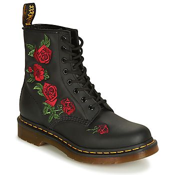 1b8735aab4b Chaussures Femme Boots Dr Martens 1460 VONDA Noir