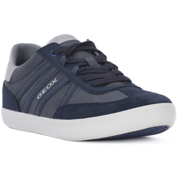 Chaussures Homme Baskets basses Geox 4002 WILMER A Blu