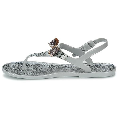 Of Femme California Sandales Colors pieds Et Sandal Snake Grey Nu dQhsCtr