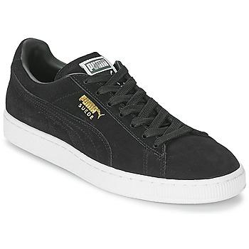 Chaussures Homme Baskets basses Puma SUEDE CLASSIC Noir