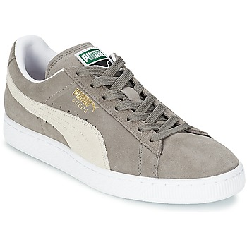 Chaussures Baskets basses Puma SUEDE CLASSIC Gris