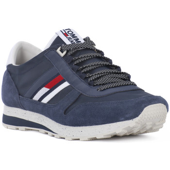 Chaussures Homme Baskets basses Tommy Hilfiger INK JEANS RETRO Blu