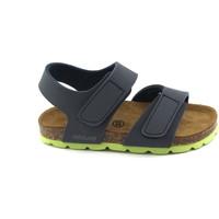 Chaussures Enfant Sandales et Nu-pieds Grunland Grünland AIR bébé fichiers sandales bleu SB0094 larmes Birk Blu